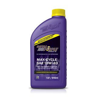 Royal Purple  MAXCYCLE Motorradöl, Öl, 10W40,  JASO MA 2
