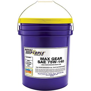 Royal Purple Max Gear 75w 140 LSD High Performance Synthetic Gear Oil 05301 19Liter